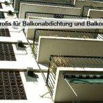 balkonabdichtung und balkonsanierung
